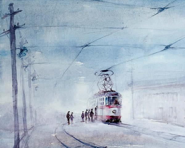 儿时记忆-有轨电车