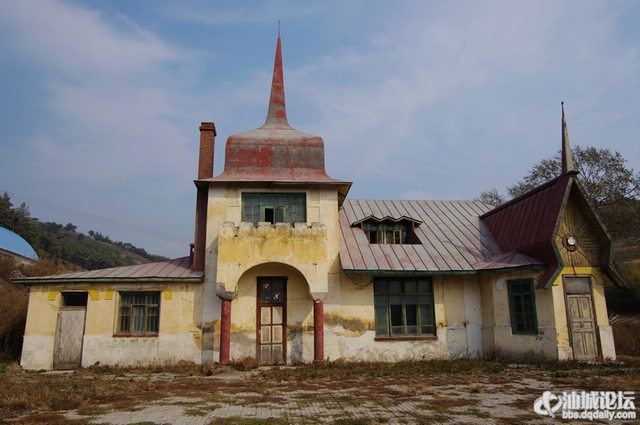 哈尔滨欧式建筑屋顶