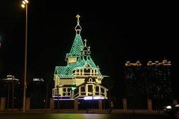我爱夜幕下的哈尔滨