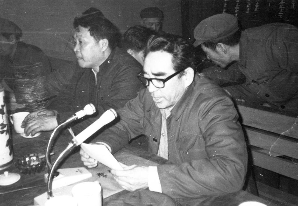 1978年3月在哈尔滨铁路房产段第十次党代表发言
