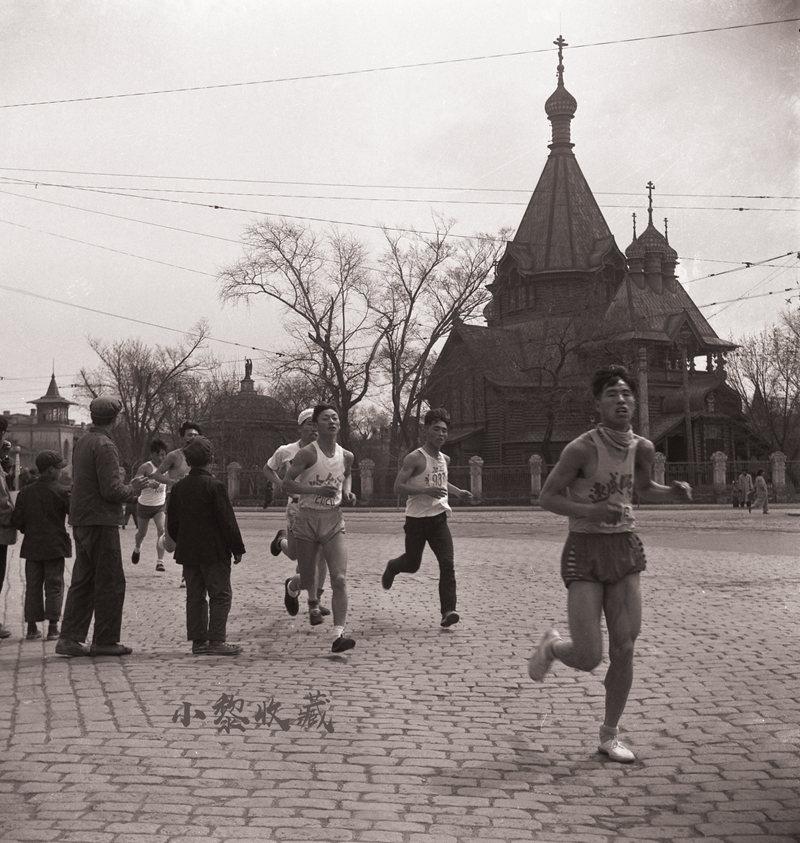 五十年代末期南岗区尼古拉大教堂