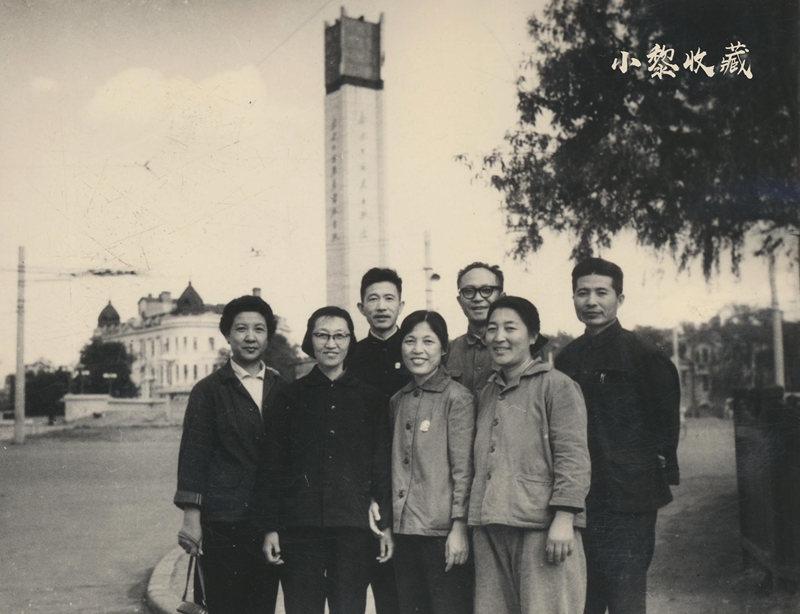 1967年南岗区中心转盘道