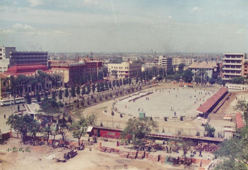 1987年南岗区体育场